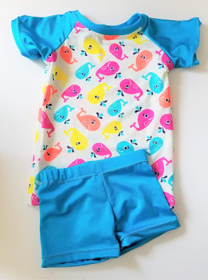 Kids Swimsuit from Sew Simple Home