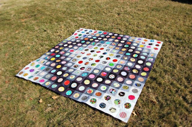 On the Bubble Quilt from Coop Crafts