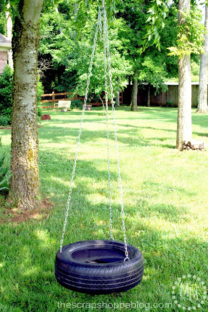 Tire Swing from Today's Creative Life
