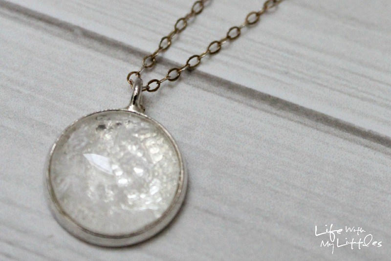 Wedding Dress Necklace from Life with my Littles
