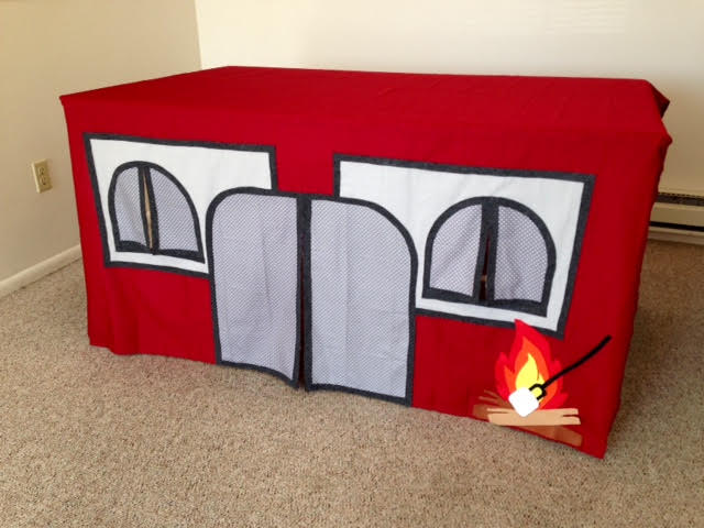 Indoor Camping Playhouse from Little Family Adventure