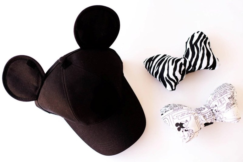 Minnie Ears Hat with Interchangeable Bows from All for the Memories