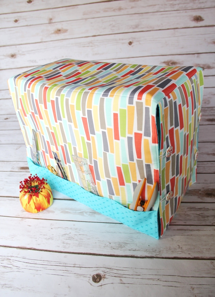 Sewing Machine Cover by Crafty Staci For SewCanShe