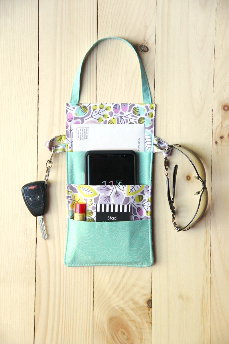 Out the Door Organizer by Crafty Staci for SewCanShe