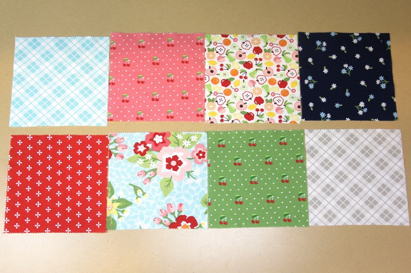 Pieces laid out for Market Bag from Annie's straps on Crafty Staci
