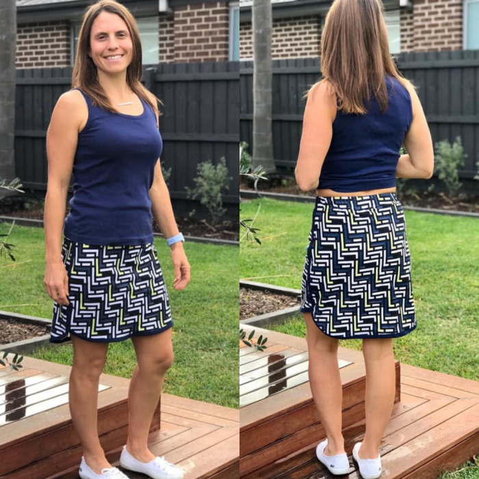 Sporty Skirt from Sew4Bub