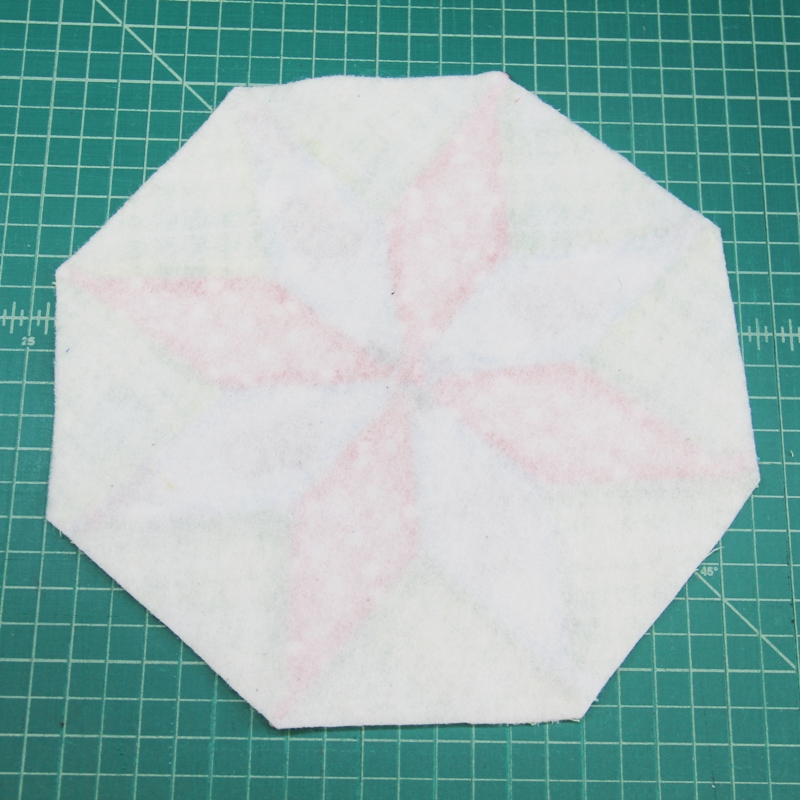 Apply fusible fleece