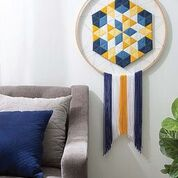 Dream Catcher Quilted Wall Hanging