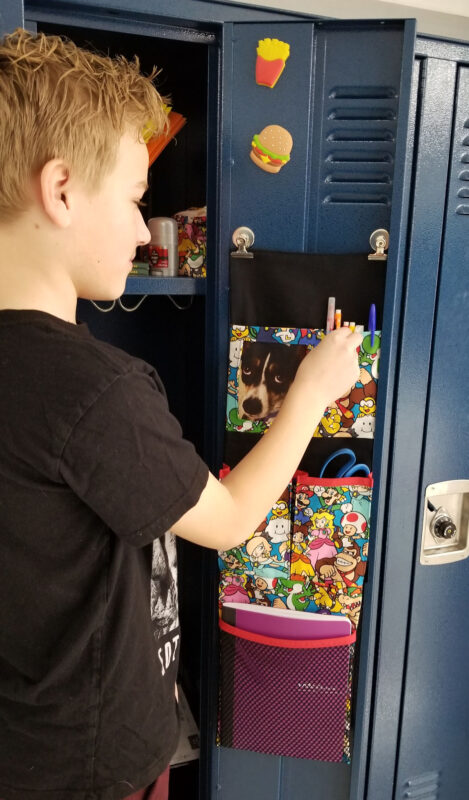 Locker Organizer from We All Sew