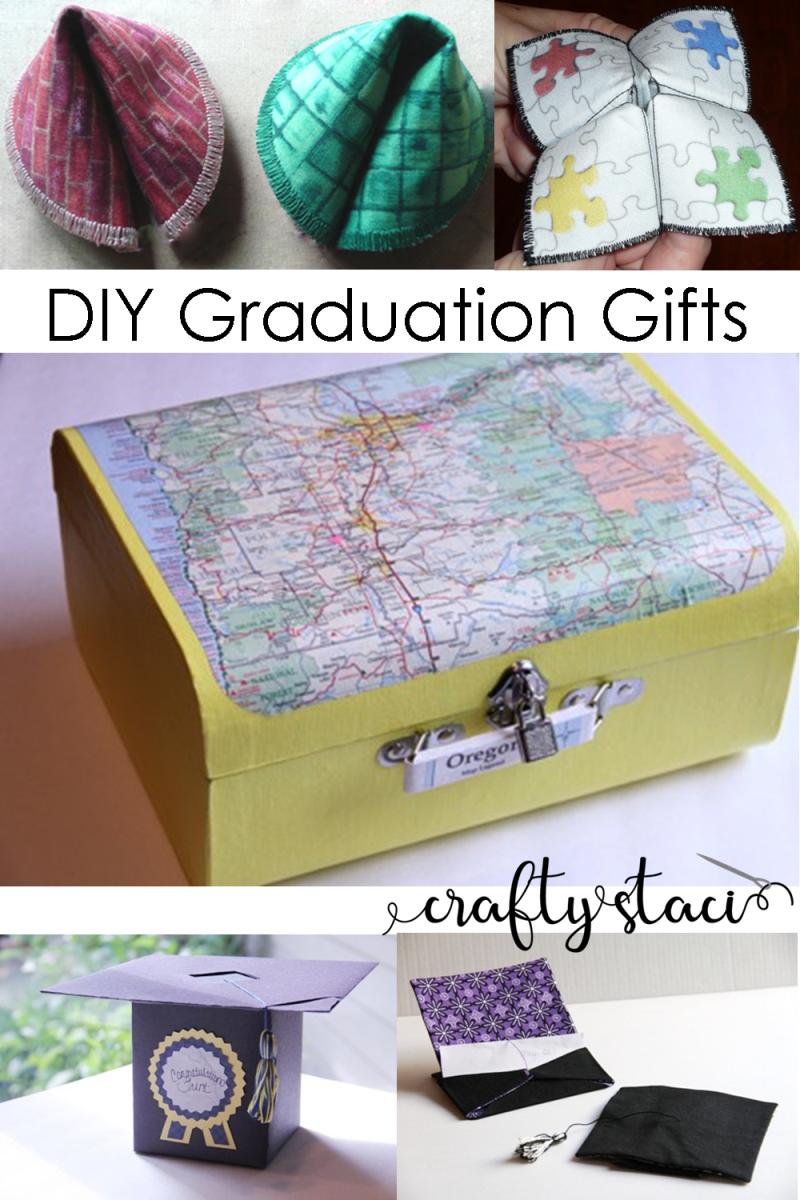 DIY Graduation Gifts on Crafty Staci #graduation #diygifts