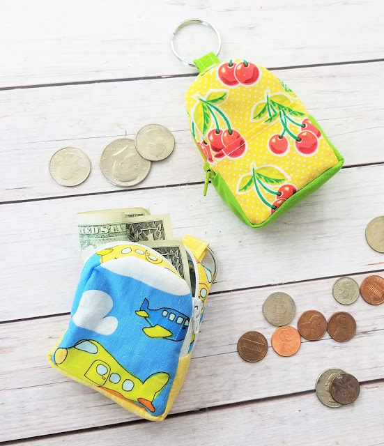 Backpack Coin Pouch from Sew Simple Home