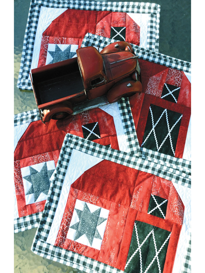 Barn to Table Place Mats Quilt Pattern from Annie's Craft Store