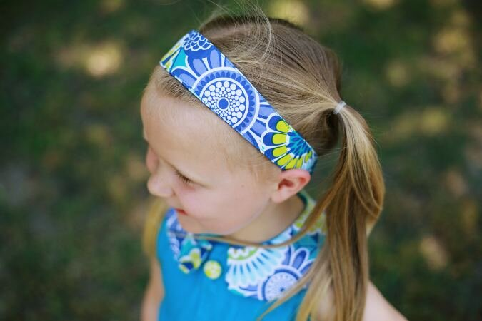 Fabric Headband from Sew Crafty Me