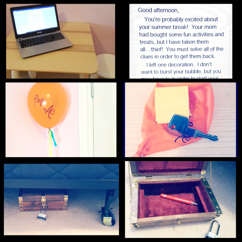 DIY Escape Room for Kids from Hands-On Teaching Ideas