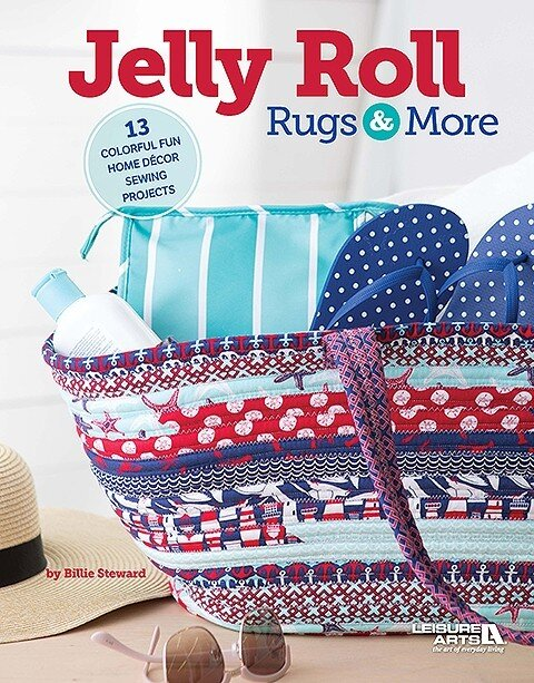 Jelly Roll Rugs and More Book from Leisure Arts