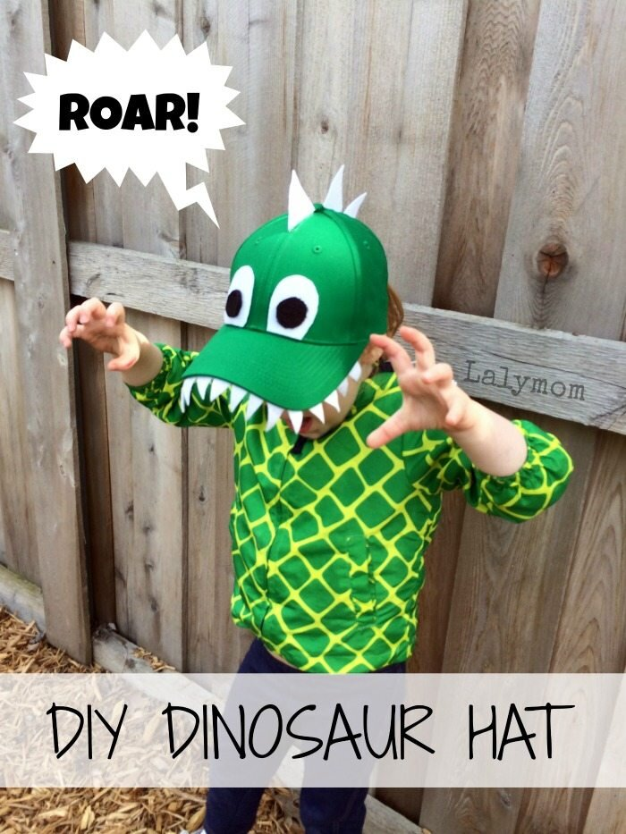 Dinosaur Hat from Lalymom
