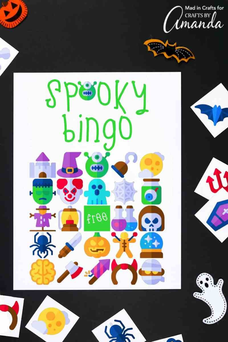 Halloween Bingo from Crafts by Amanda