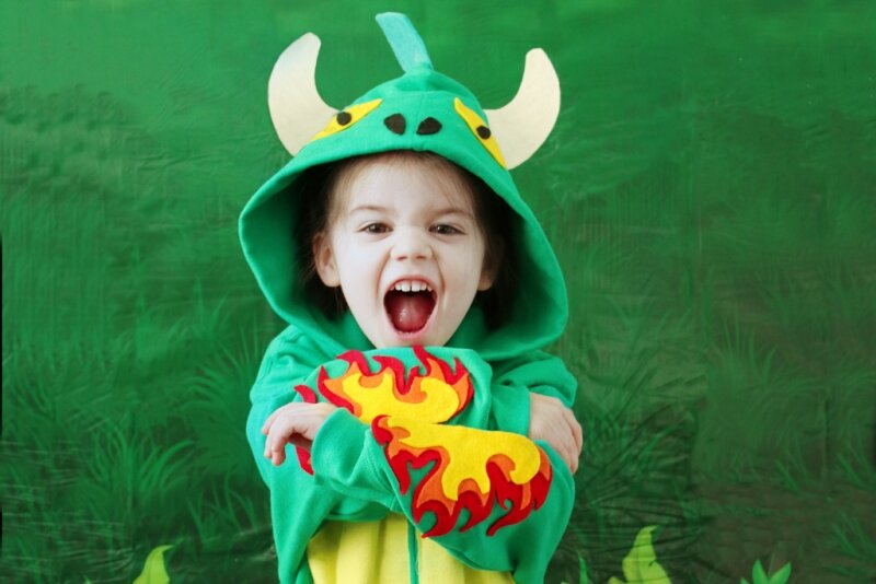 Dragon Hoodie from Wholesale Halloween Costumes