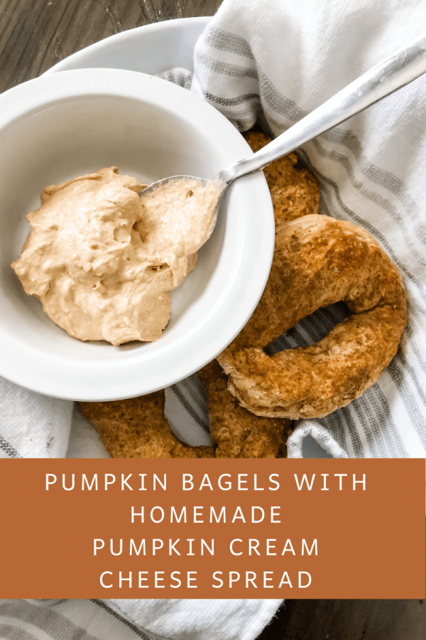 Pumpkin Spice Bagels from The Pound Dropper