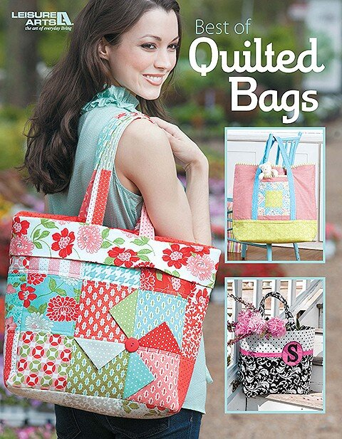 Best of Quilted Bags Book from Leisure Arts