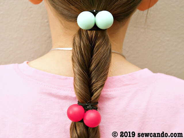 Ball Hair Bands from Sew Can Do