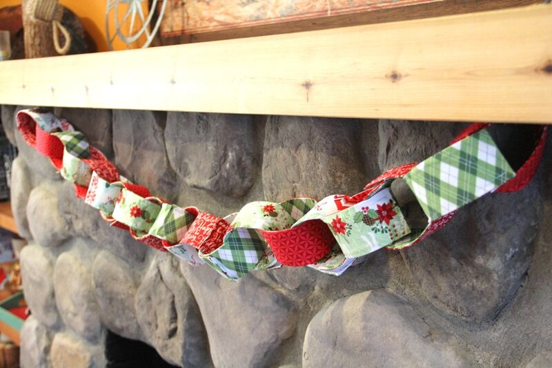 Chain Link Fabric Garland from Crafty Staci