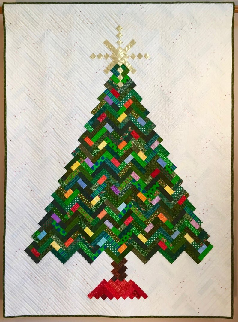 Christmas Tree Quilt Pattern from Tina Curran