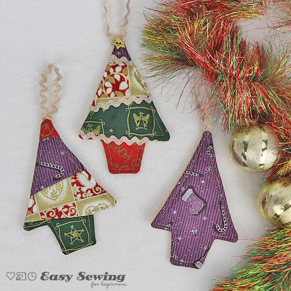 Sewing Machine Xmas Ornament