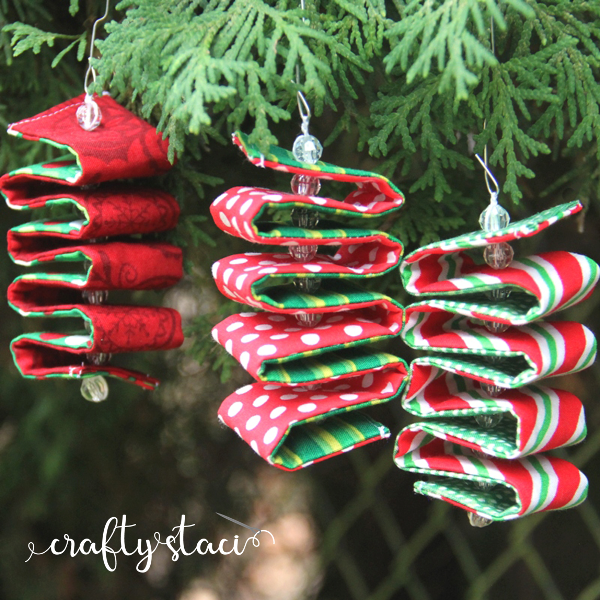 Fabric+Ribbon+Candy+Ornaments+from+Crafty+Staci