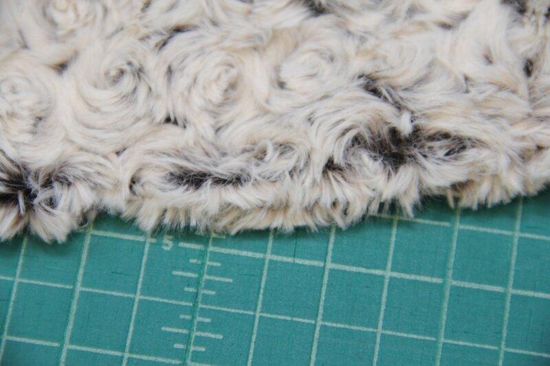 Plain Fun Faux Fur Fabric Material NUTMEG BROWN