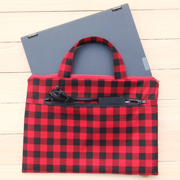 Sewing tutorial: Laptop bag