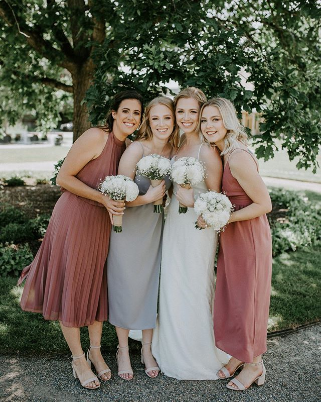 So in love with this bridal party colour palette 😍