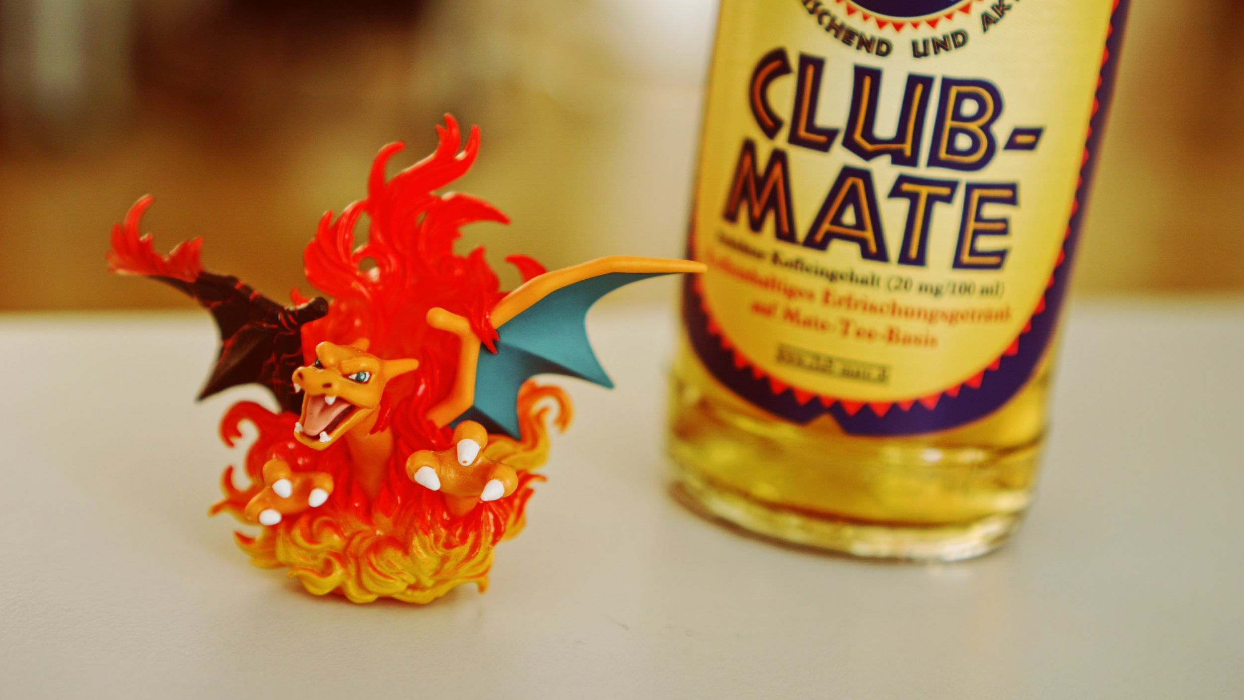 Club-Mate, Charizard loves the stuff.