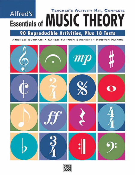 Alfred's Essentials of Music Theory: Complete by Andrew Surmani
