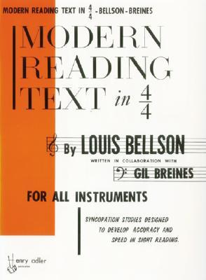 Modern Reading Text in 4/4 by Louis Bellson