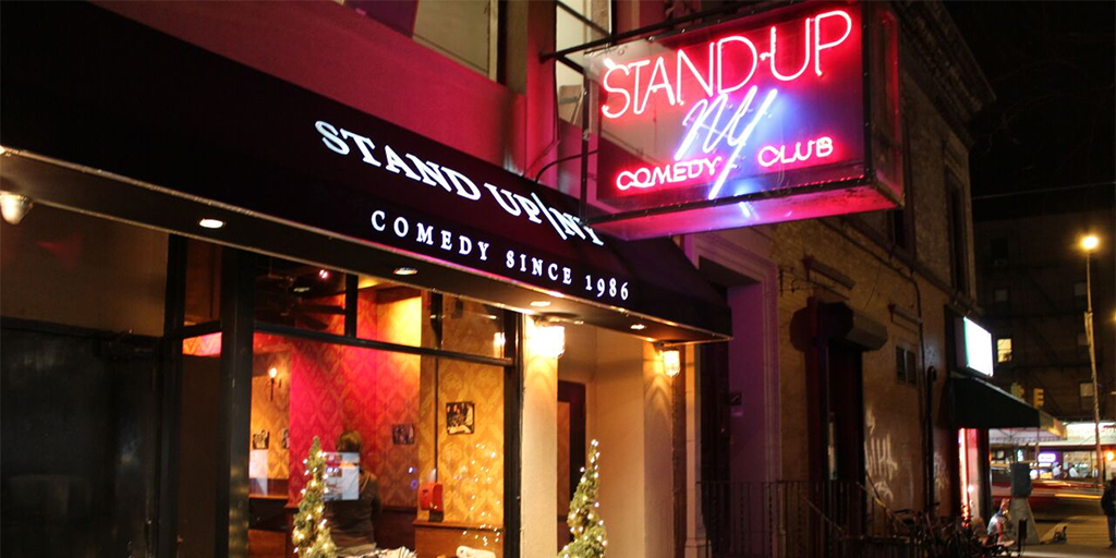 Two Tickets to Stand Up NY
