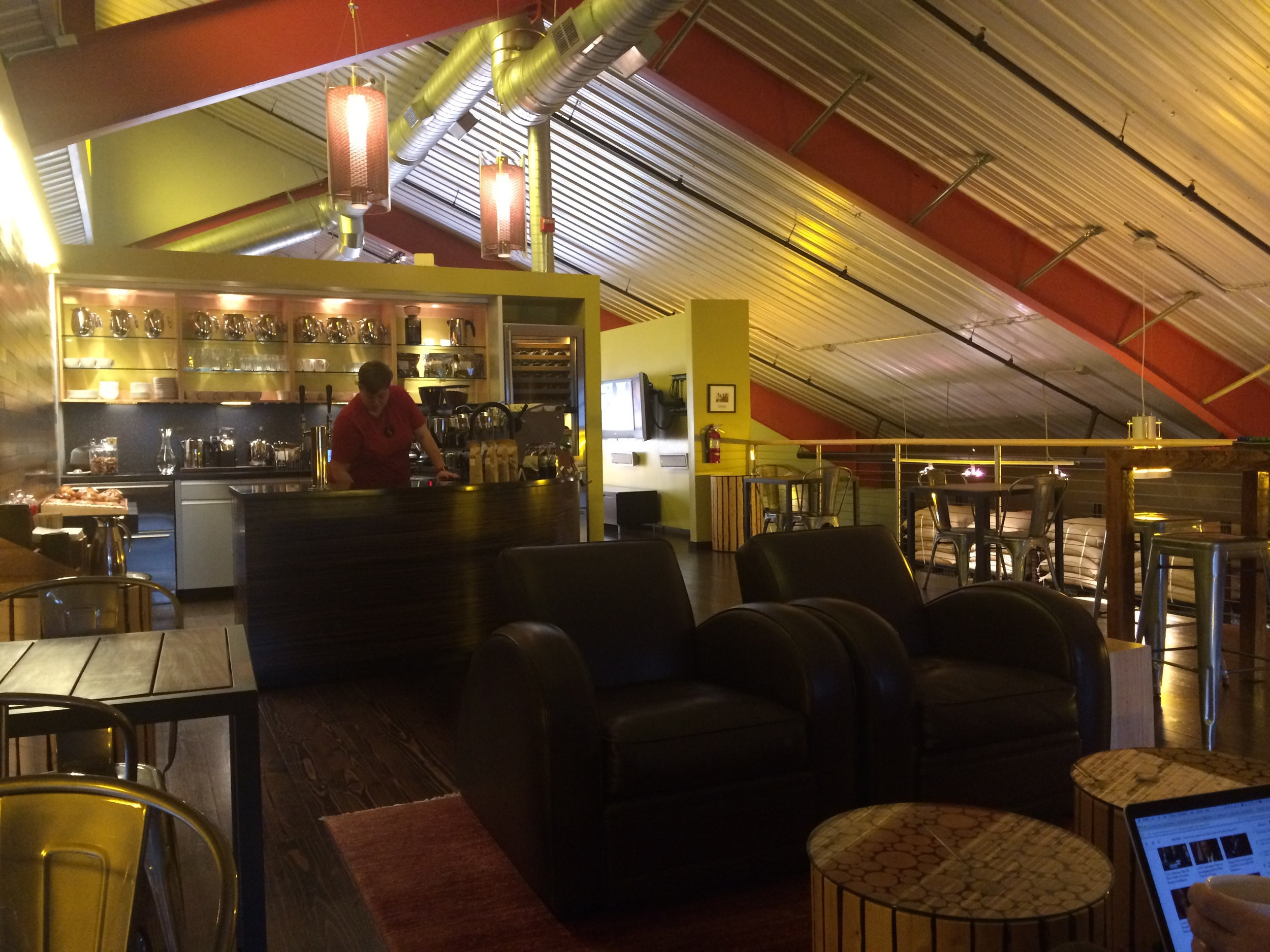 Storyville's Tasting Room