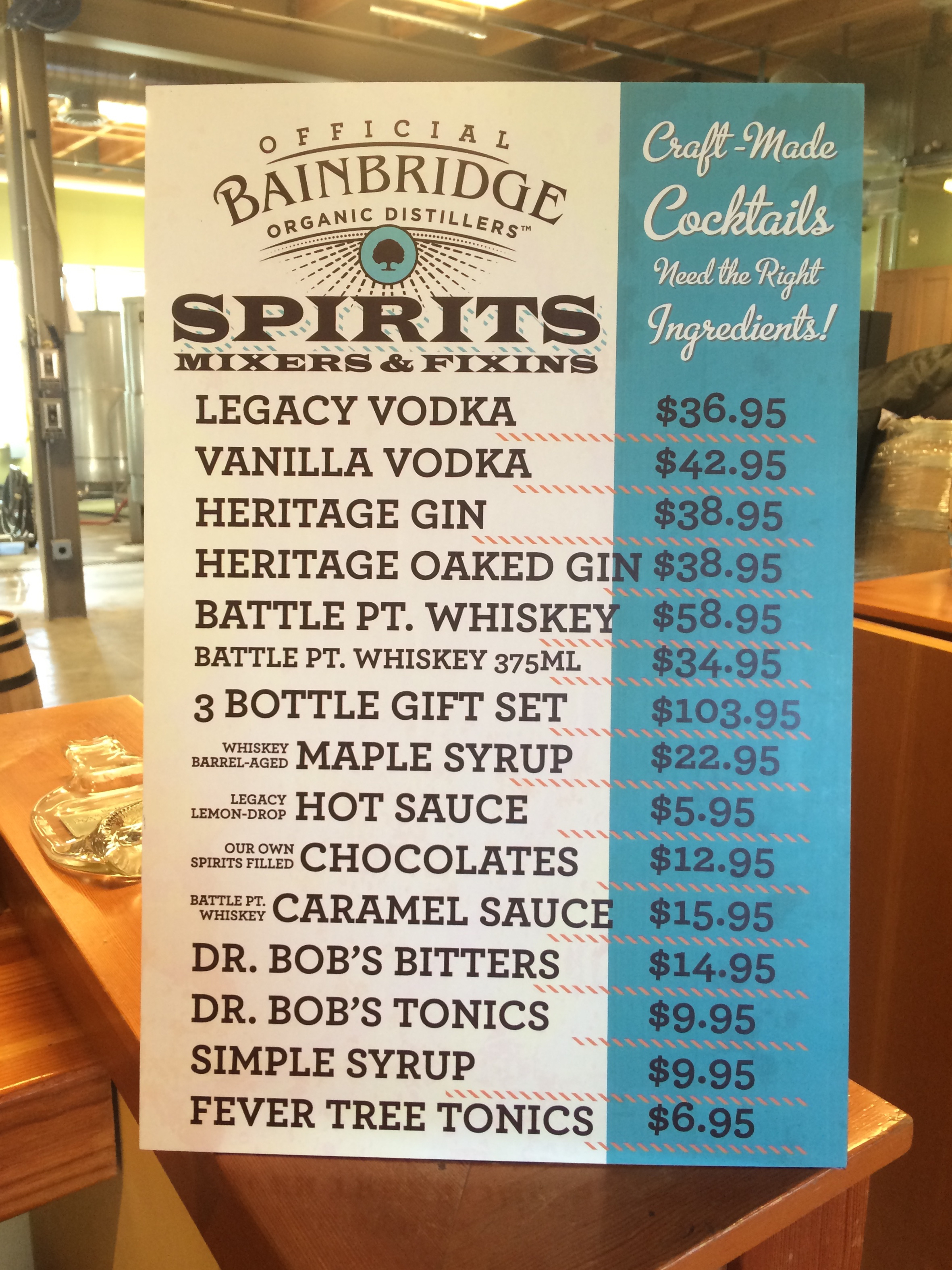 Surely there's something on here that you need for your bar...