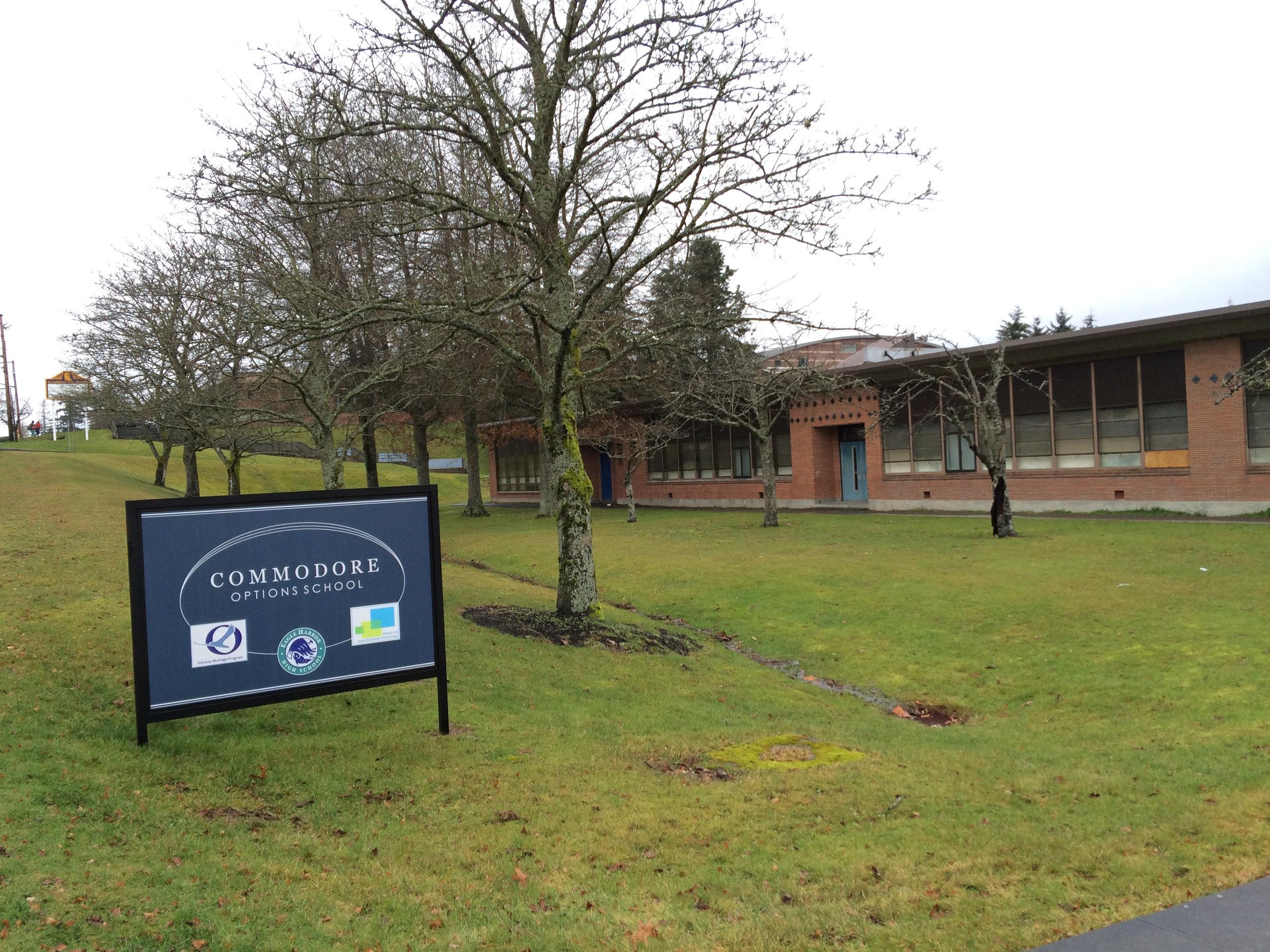 commodore options school, bainbridge island