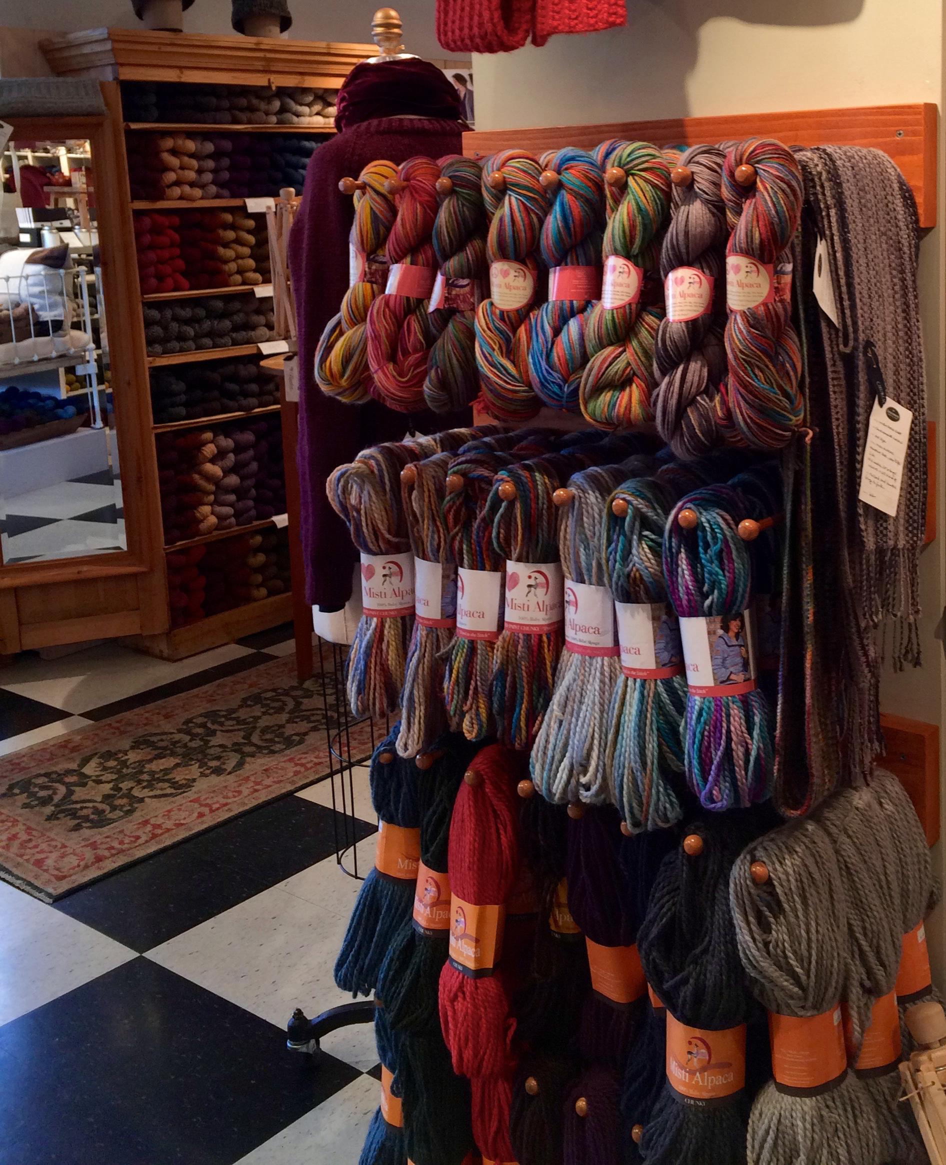 Rainbow yarn, anyone?