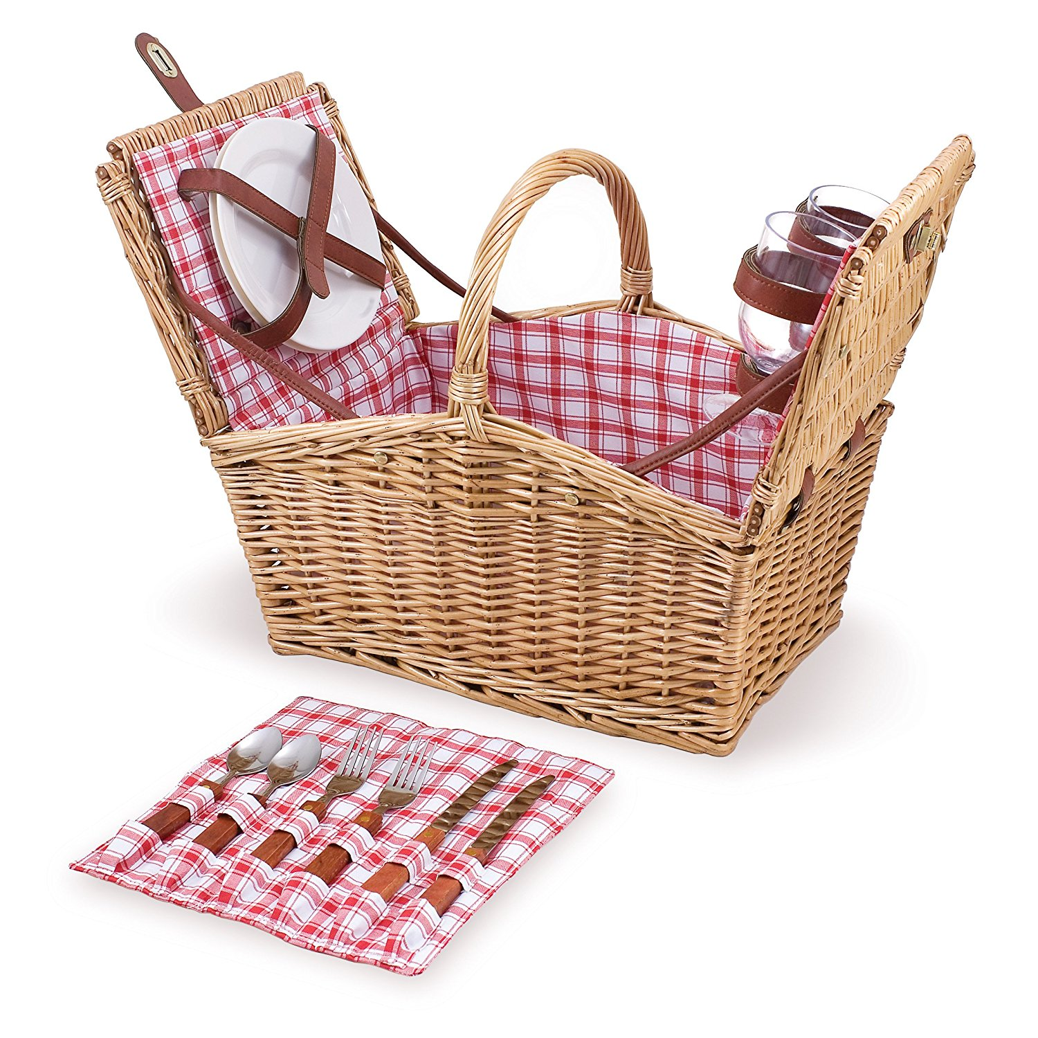 'Piccadilly' Willow Picnic Basket
