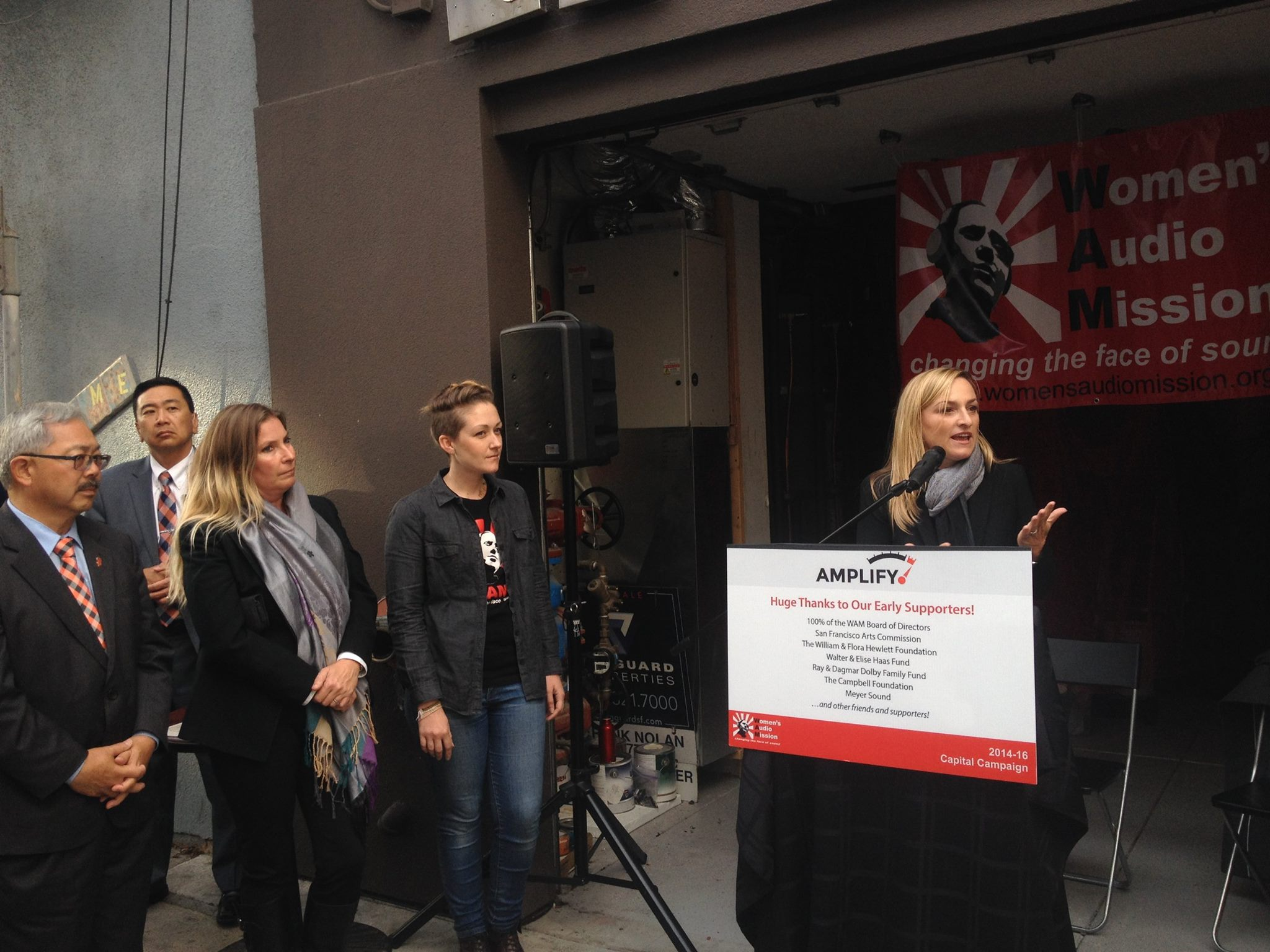 Women's Audio Mission Ribbon Cutting