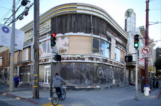 Photo: Elizabeth Hafalia,  The Chronicle   Current site: 2205 Mission St., a 1919 building with a succession of owners in recent years.