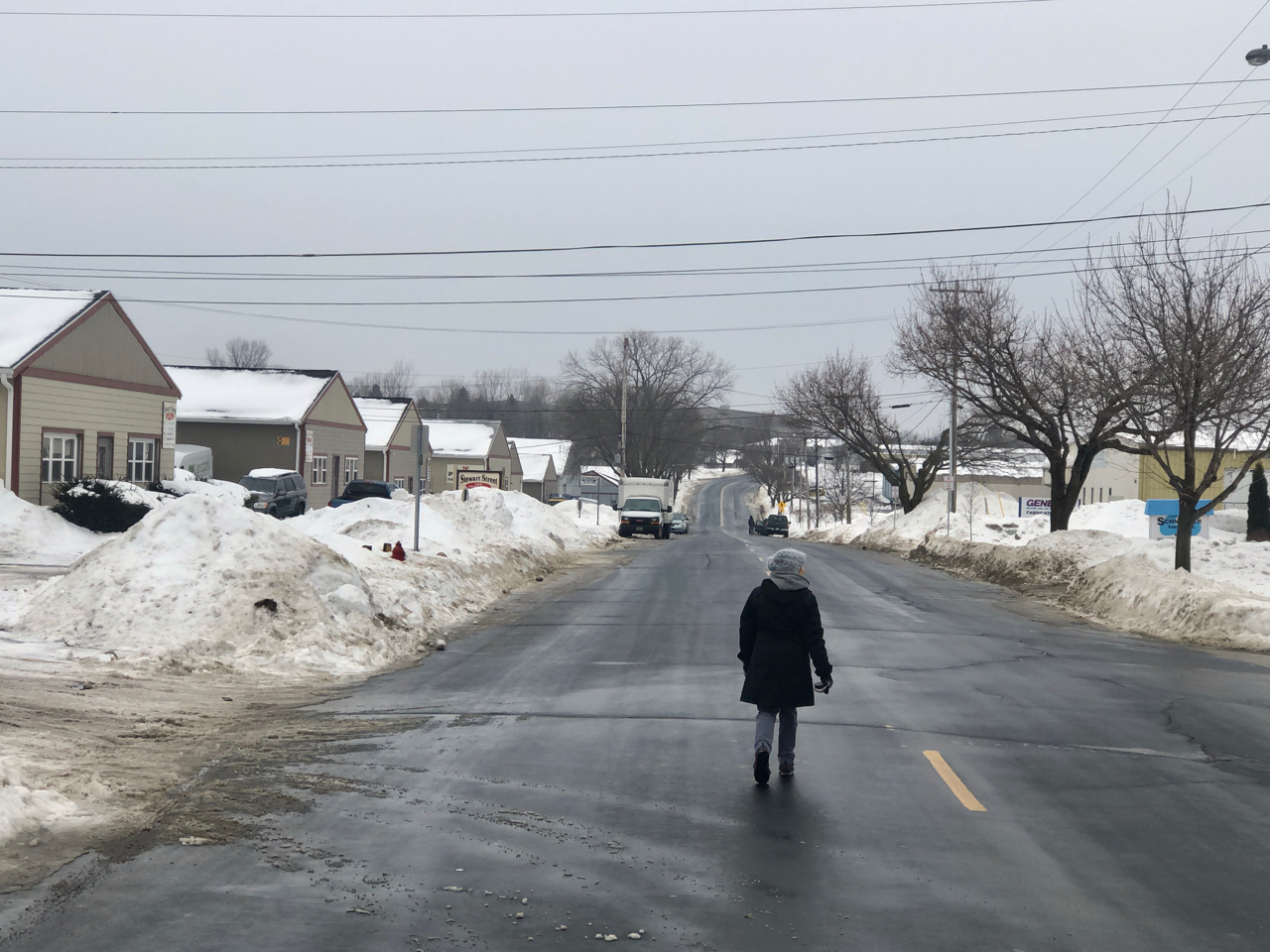 near the studio, February 2 2019