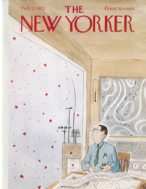 Drawing by James Stevenson, The New Yorker , February 12, 1972.