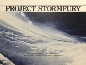 A 1977 booklet that described the Project's history, current status and suggested future plans for seeding tropical storms in the Western Pacific and Mexican Pacific regions.