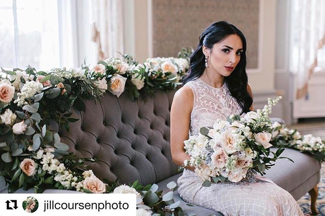 •Ticket Giveaway Contest• #Repost this photo and tag @fleurs.flowers and @locallovepopup on your repost for your chance to win some tickets to this fabulous event🌸💍 ・・・ This gorgeous photo by @jillcoursenphoto for the beautiful @locallovepopup styled shoot at @fairmontmac #locallovepopup #localloveatthemac @jillcoursenphoto - photography @zokahproductions / Videographer  @eleganttouchesyeg Rentals  @fleurs.flowers - floral  @veilbeautyco - hair + make up  @delicabridal - Dresses @Rosewood.styling - coordination and styling  @fringeandfeather - Bridal Hair Accessories  @Elsacorsi - jewelry  @rescueflats - Flats @lostinlayers - kimonos  @pinkpolkadesign - stationary  @briannegabriellecakes - cake and gems @sweetnessyeg - Save the Date Cookie @sugarmountaincottoncandy - Cotton Candy  @engravables - Chair signs  @salvagebronz - Himmeli candleholders  @bespokepapergoods - Paper Flowers  @neatrentals - rentals @zapatosanchezyeg - mens shoes @deardarlingco - accessories for dog  @fringeandfeather - jewelry hair piece, lace hair piece, garter #jillcoursenphotography #yegbride  models: @rebeccawatt @talise.s @luigikilometers  Assistant photographer/behind the scenes: @hueofbluephotography