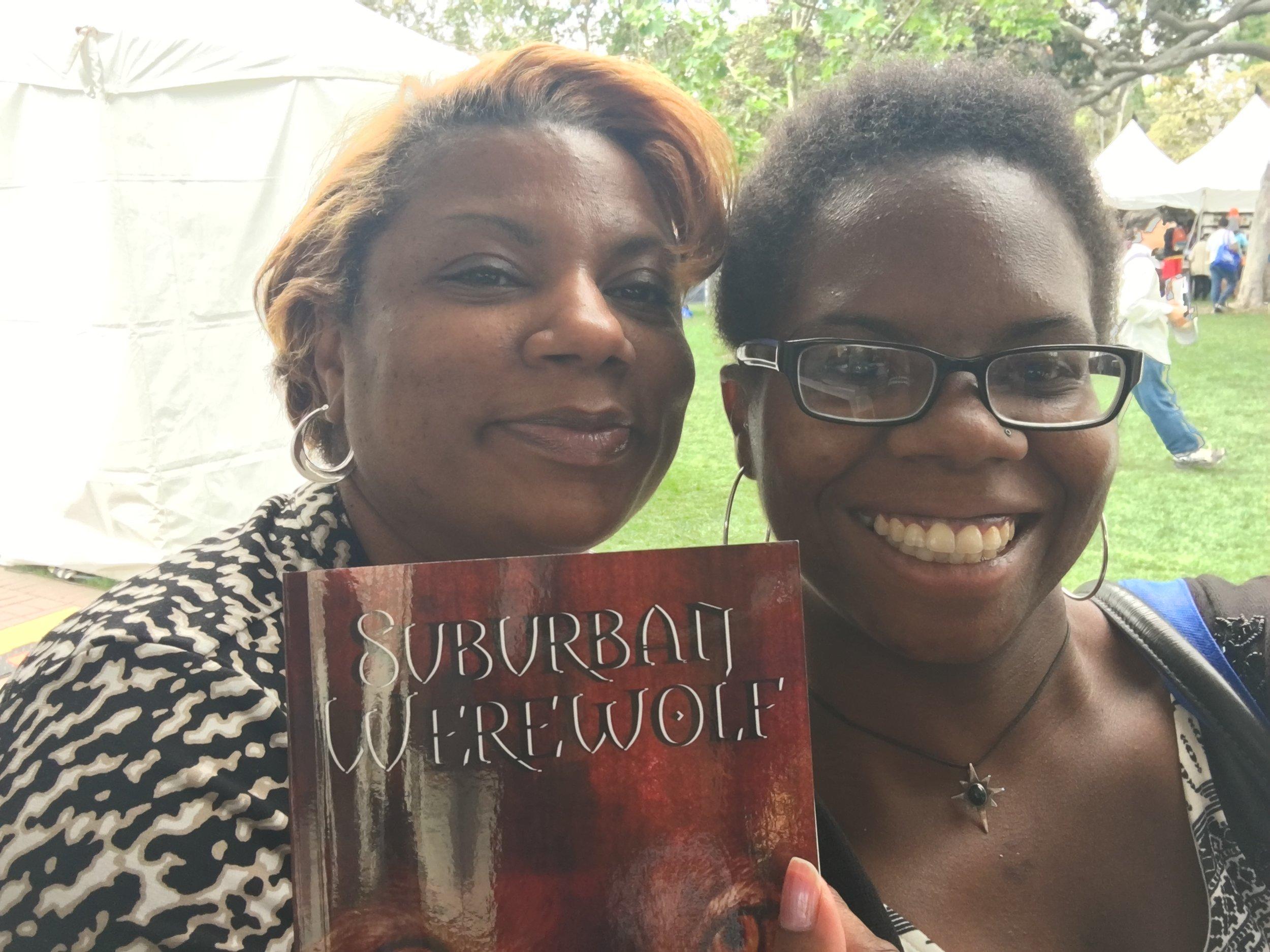 S.L. Ladd, author of  Suburban Werewolf