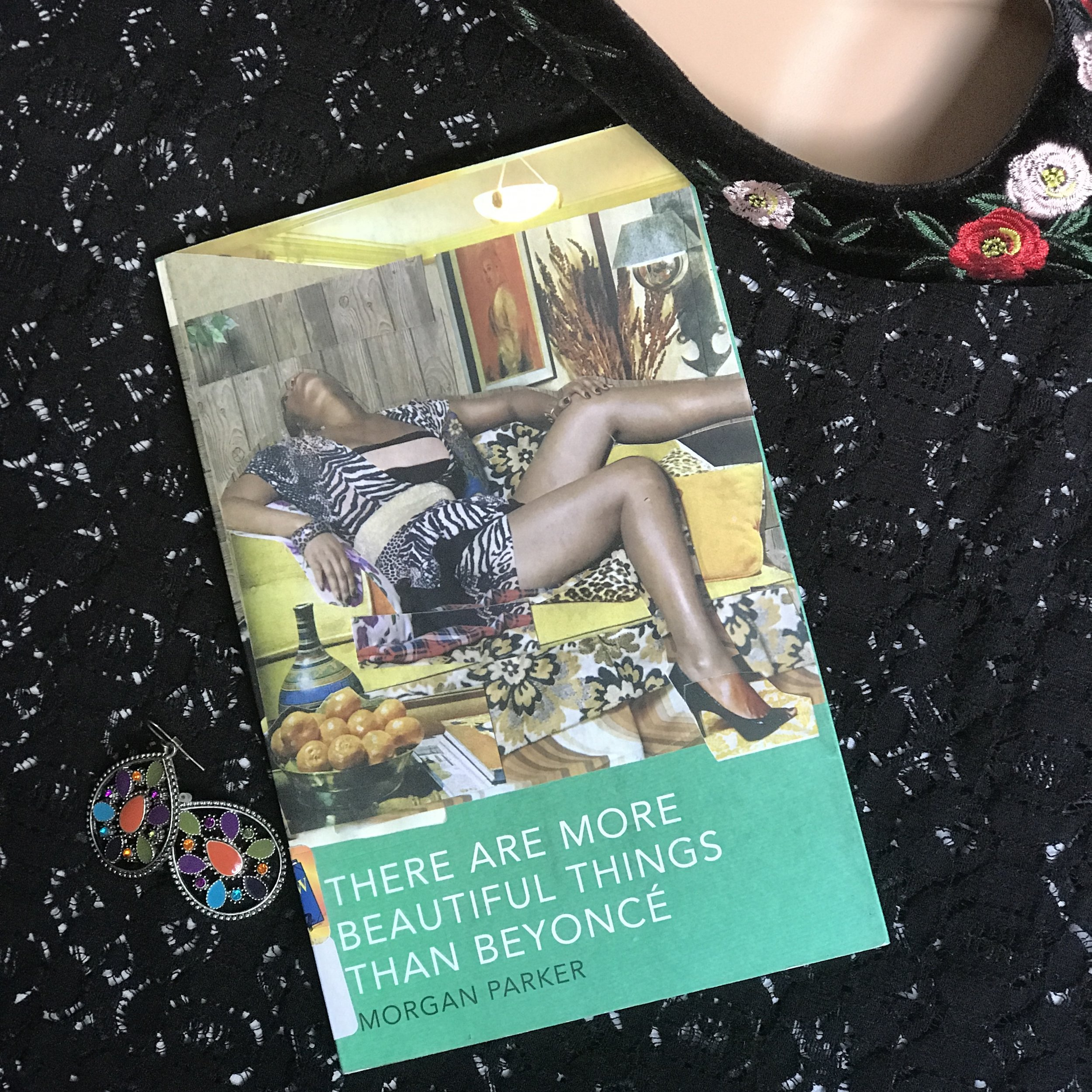 There Are More Beautiful Things Than Beyonce by Morgan Parker Cover by Black & Bookish