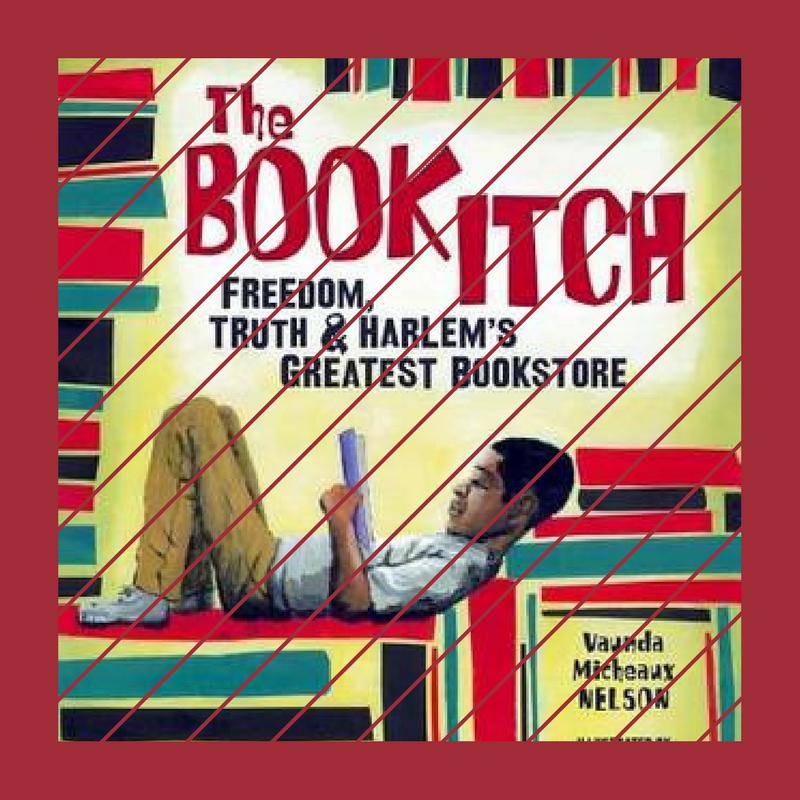 The Book Itch by Vaunda Micheaux Nelson (via blackandbookish.com)